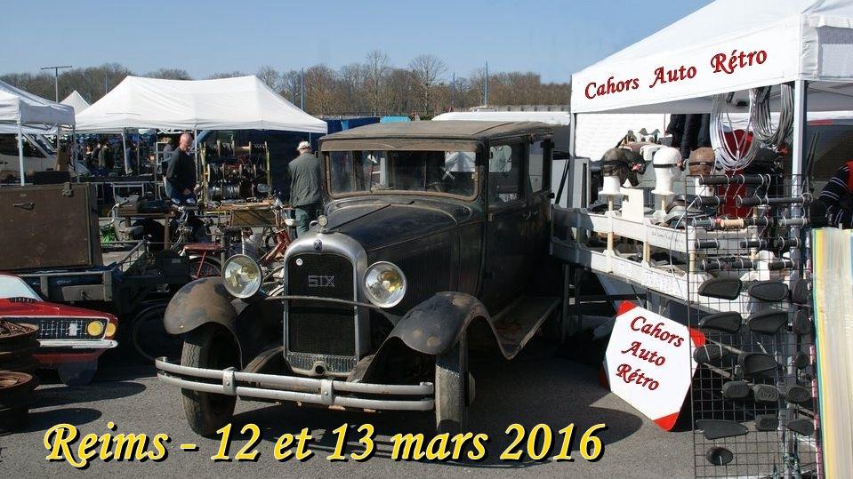 Cahors auto retro for Salon auto reims